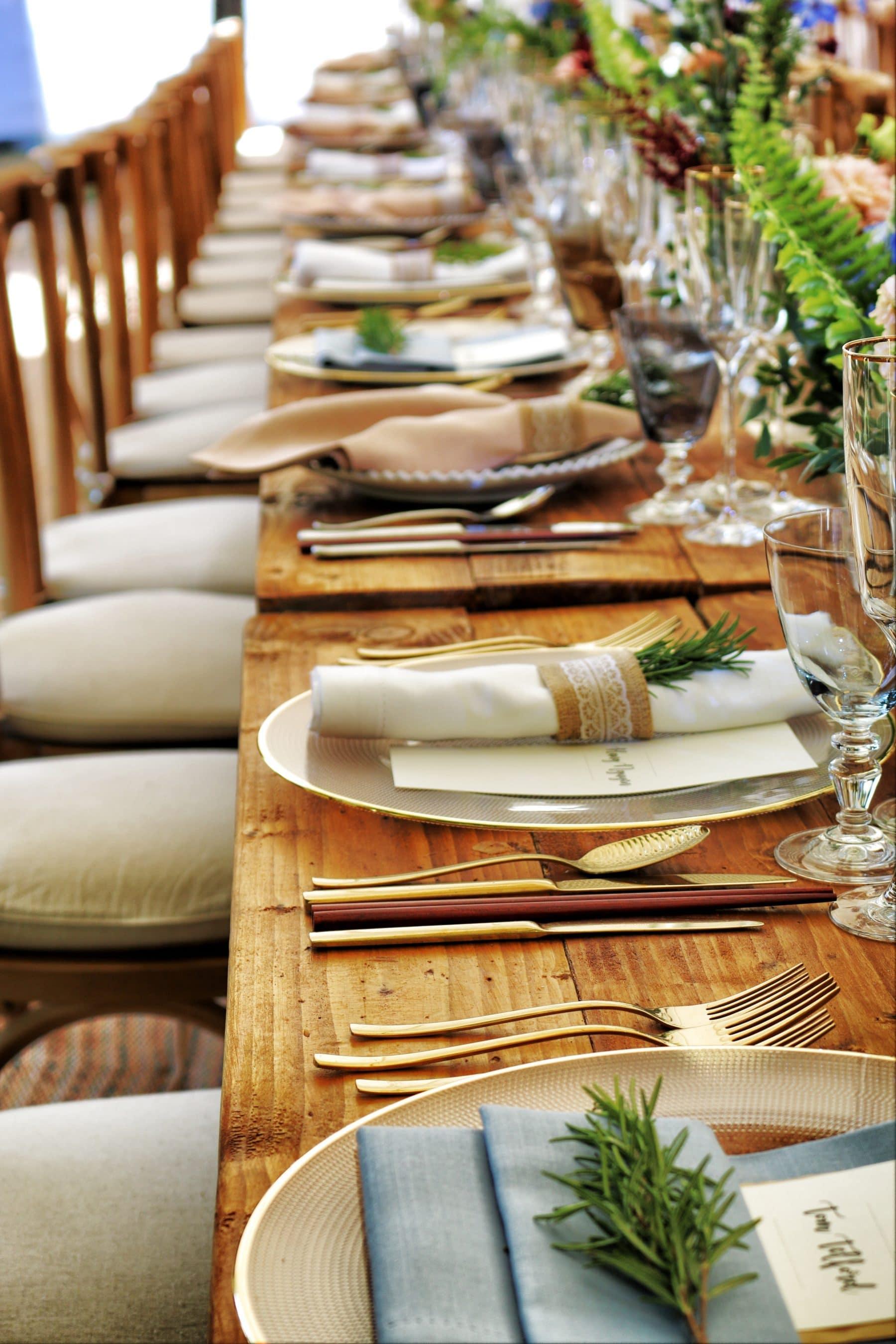 Tarjetas de RSVP para bodas con opciones de comidas para la diabetes
