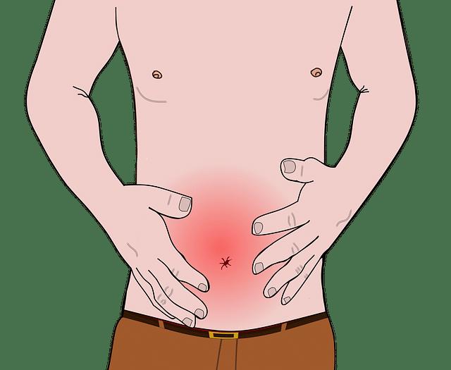 hinchazón en el estomago y dolor